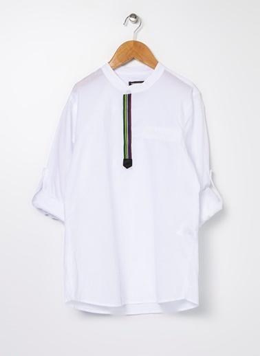 Nebbati Gömlek Beyaz